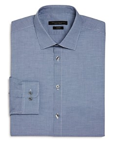 John Varvatos Star USA - Micro Gingham Slim Fit Dress Shirt