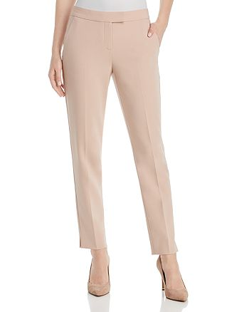 Theory - Ibbey Admiral Crepe Straight-Leg Pants - 100% Exclusive