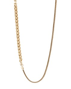"""JOHN HARDY - 18K Yellow Gold Classic Chain Convertible Link Necklace, 36"""""""