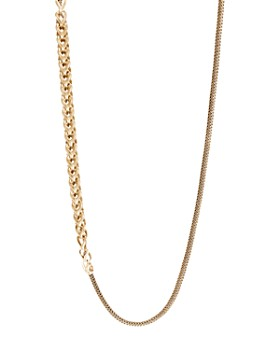 JOHN HARDY - 18K Yellow Gold Classic Chain Convertible Link Necklace, 36""