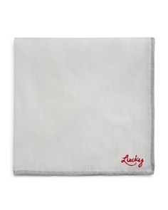 The Men's Store at Bloomingdale's - x Darcy Miller Lucky Linen Pocket Square - 100% Exclusive