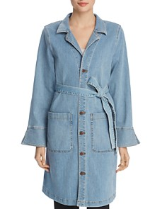 Eileen Fisher - Belted Denim Jacket - 100% Exclusive