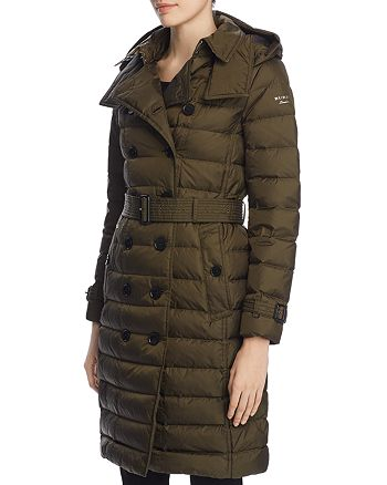 Burberry - Dalmerton Double-Breasted Down Puffer Coat