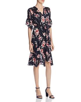 b90d1d0882da64 Elie Tahari - Isabelle Floral Burnout Dress ...
