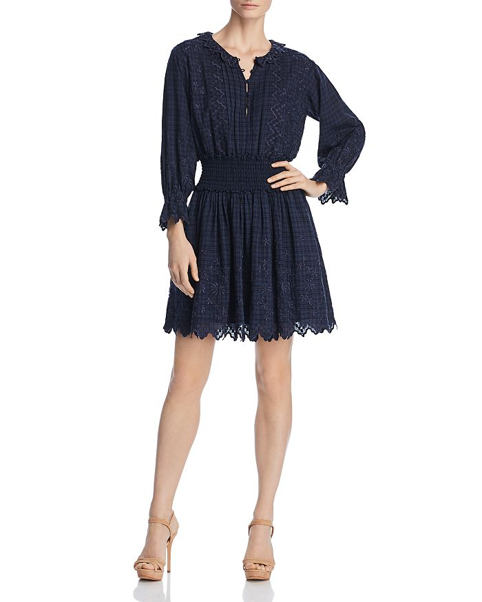Rebecca Taylor - Embroidered Voile Dress