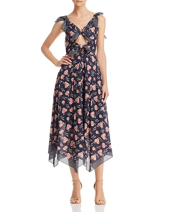 Rebecca Taylor - Adelle Scarf-Print Dress