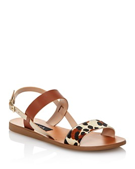 AQUA - Women's Sam Strappy Sandals - 100% Exclusive