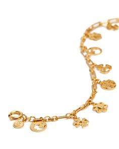 Tory Burch - Logo Charm Bracelet