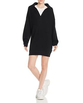 alexanderwang.t - Layered-Look Sweater Dress
