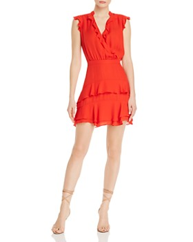 Parker - Tangia Silk Ruffle Dress