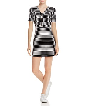 eb7d0b0812 Sadie   Sage - Ribbed Striped Dress ...