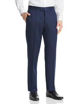 Armani - Tailored Virgin Wool Regular Fit Pants