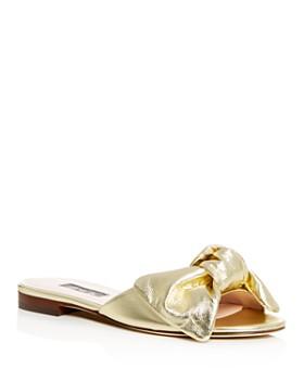 SJP by Sarah Jessica Parker - Women's Finn Bow Slide Sandals