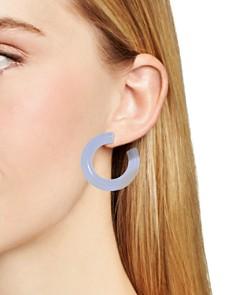 BAUBLEBAR - Petrina Lucite Hoop Earrings