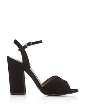 Tabitha Simmons - Women's Kali Pleated Block-Heel Sandals