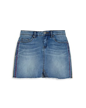c2787ad13ffd2 BLANKNYC - Girls' Embroidered Denim Mini Skirt, Big Kid - 100% Exclusive ...