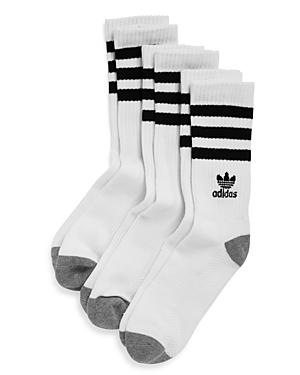Adidas Striped Logo Socks - Pack of 3