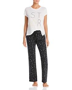 PJ Salvage - Star Tee & Star-Print Pajama Pants