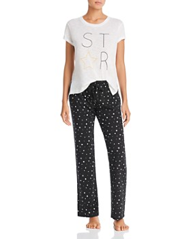 2f07386908 PJ Salvage - Star Tee   Star-Print Pajama Pants