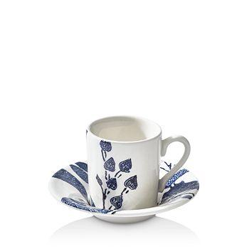 Ralph Lauren - Garden Vine Espresso Cup & Saucer Set