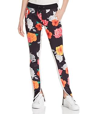 Pam & Gela  FLORAL-PRINT TRACK PANTS