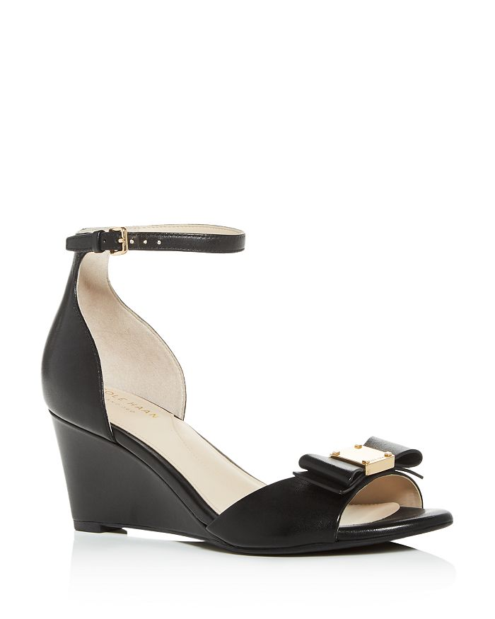 Cole Haan - Women's Tali Bow Wedge Sandals