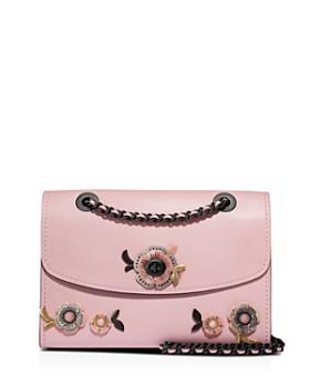 f4be466ddb5d COACH - Parker Tea Rose Stone Convertible Shoulder Bag ...