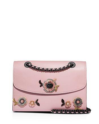 COACH - Parker Tea Rose Stone Convertible Shoulder Bag