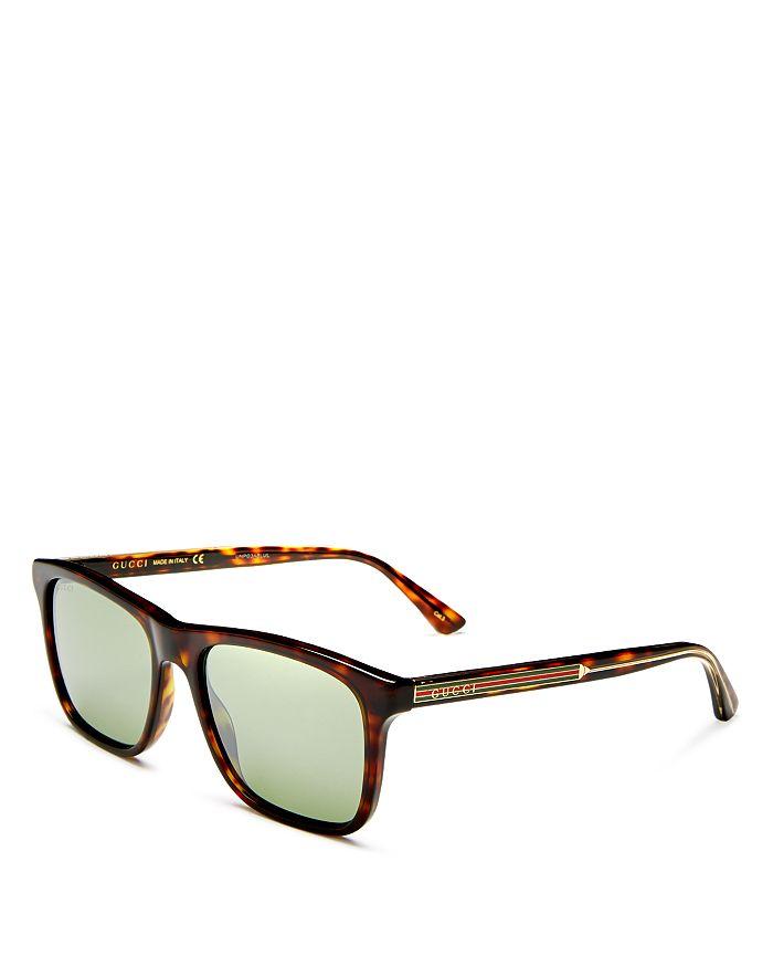 Gucci - Men's Mirrored Square Sunglasses, 55mm
