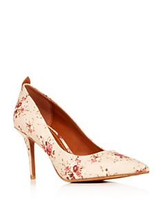 COACH - Women's Waverly Floral Print Pointed-Toe Pumps