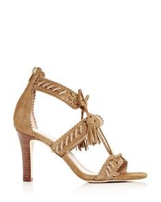 COACH - Women's Bella Ankle-Tie High-Heel Sandals