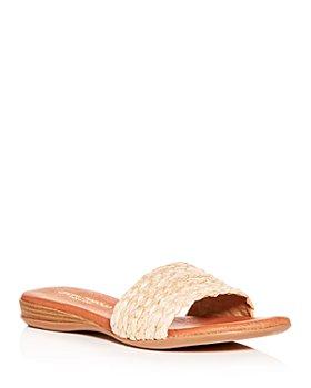 Andre Assous - Women's Nahala Featherweights™ Woven Slide Sandals