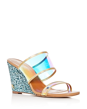 Kurt Geiger Women's Charing Wedge Slide Sandals
