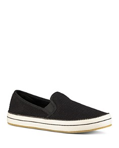 UGG® - Women's Bren Perforated Suede Slip-On Sneakers