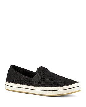 UGG® - Women's Bren Perforated Suede Slip-On Sneakers