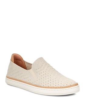 UGG® - Women's Sammy Chevron Metallic Knit Slip-On Sneakers