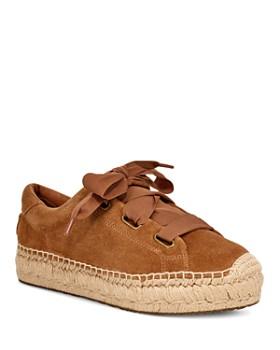 UGG® - Women's Brianna Suede Espadrille Sneakers