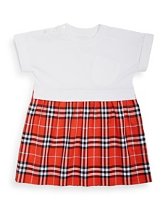 Burberry -  Girls' Ruby Vintage Check Skirt Dress - Little Kid, Big Kid