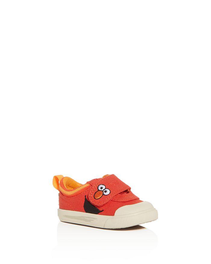 TOMS - x Sesame Street Boys' Elmo Doheny Low-Top Sneakers - Baby, Walker, Toddler