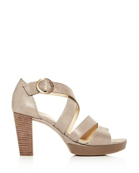 Paul Green - Women's Riveriera Crisscross High-Heel Platform Sandals