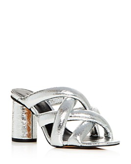 Rebecca Minkoff - Women's Amandine High-Heel Slide Sandals