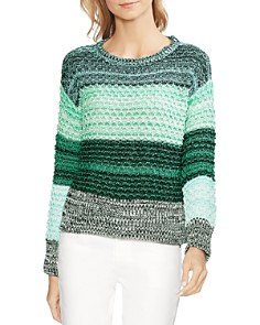 VINCE CAMUTO - Drop-Shoulder Color-Block Sweater
