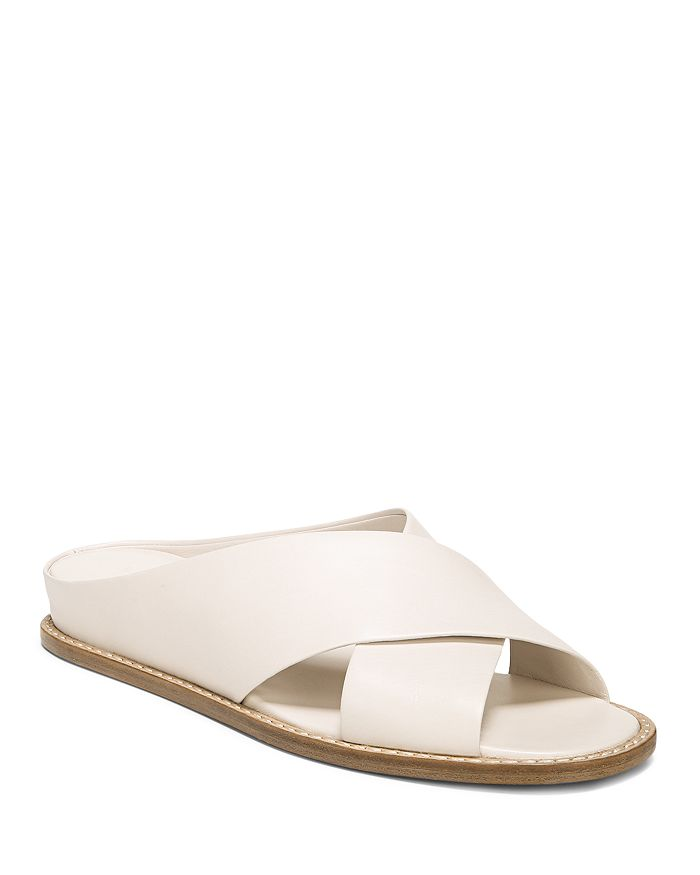 Vince - Women's Fairley Leather Slide Sandals