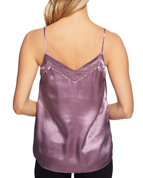1.STATE - Satin V-Neck Camisole Top