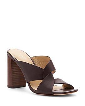 Botkier - Women's Raven Leather Slide Sandals