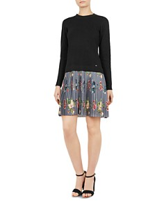 Ted Baker - Izitaa Oracle Layered-Look Dress