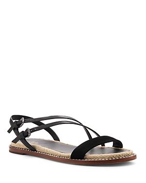 Botkier Sandals WOMEN'S ISLAND LEATHER & SUEDE SANDALS