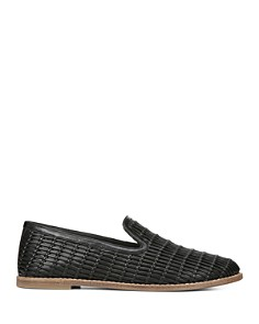 Vince - Women's Jonah Woven Leather Loafers