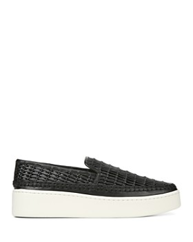9d71ba600e4a ... Vince - Women s Stafford Woven Leather Platform Slip-On Sneakers