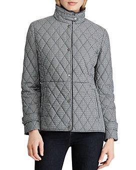 Ralph Lauren - Quilted Houndstooth Jacket